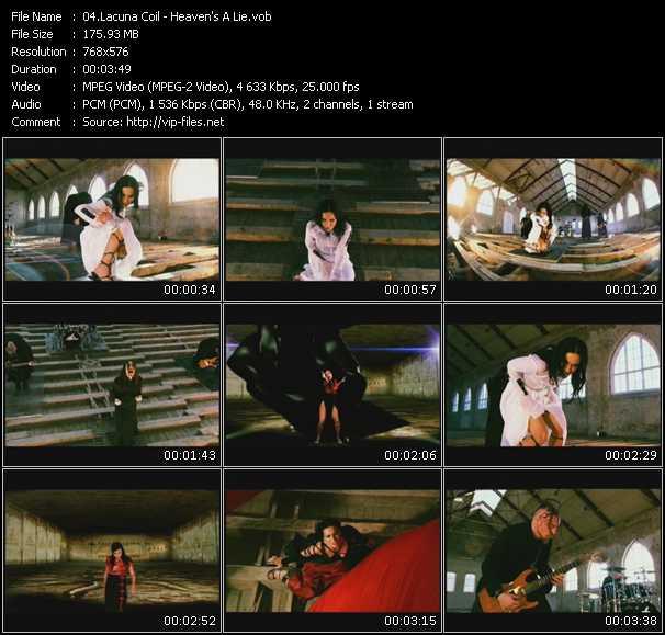 Lacuna Coil - Heaven's A Lie