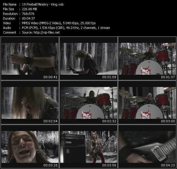 Fireball Ministry - King