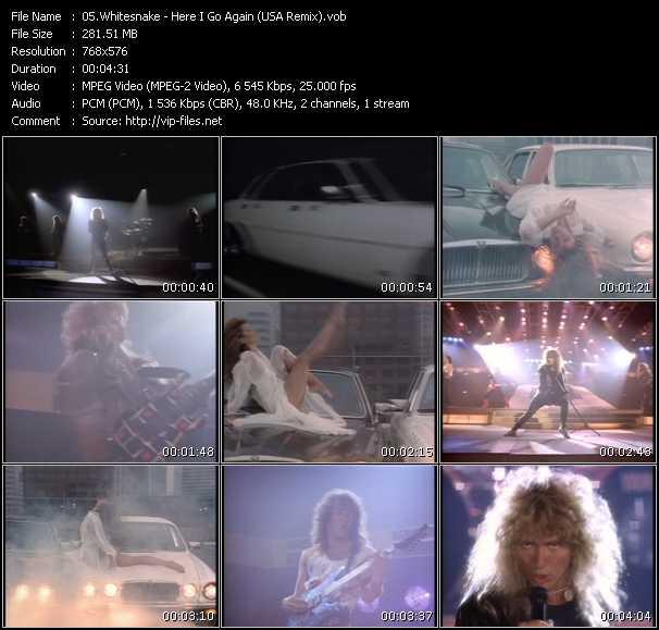 Whitesnake - Here I Go Again (USA Remix)