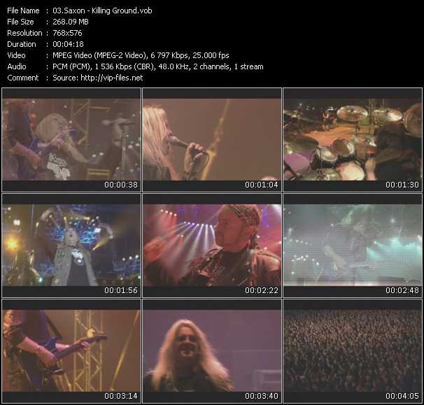 Saxon - Killing Ground