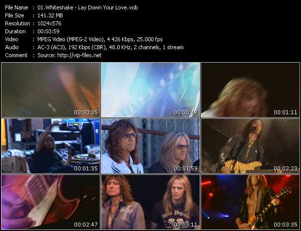 Whitesnake - Lay Down Your Love