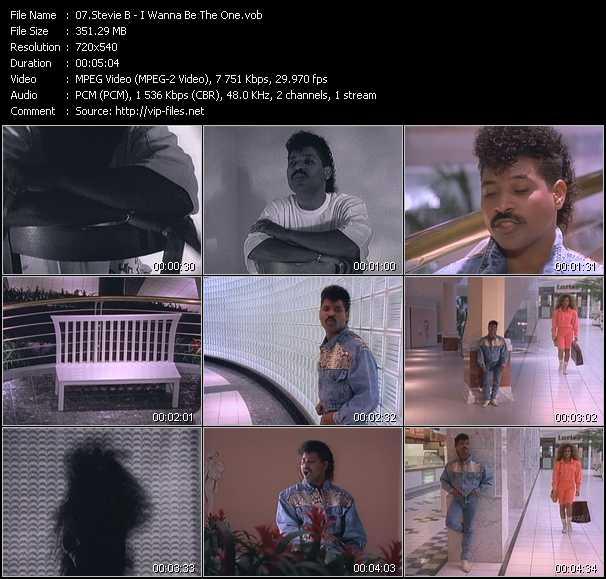 Stevie B. - I Wanna Be The One