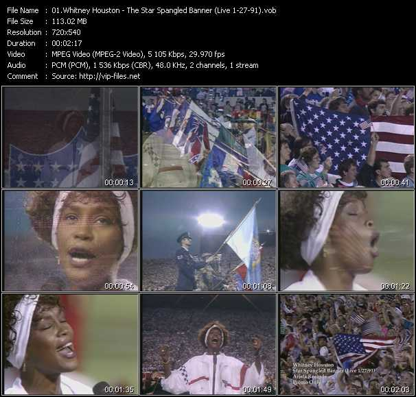 Whitney Houston - The Star Spangled Banner (Live 1-27-91)