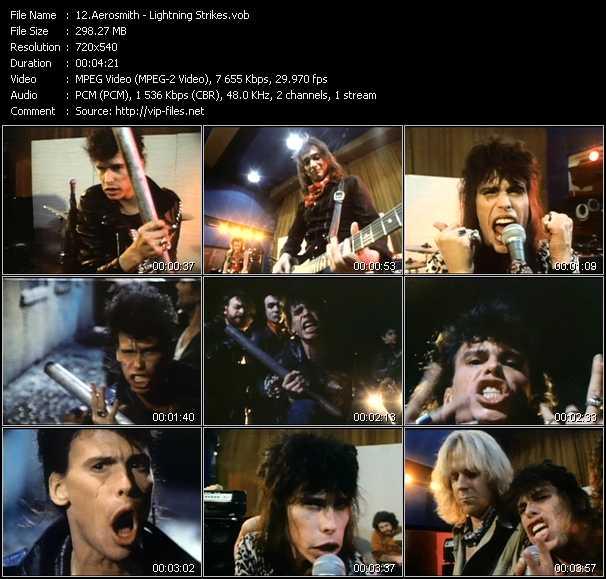 Aerosmith - Lightning Strikes