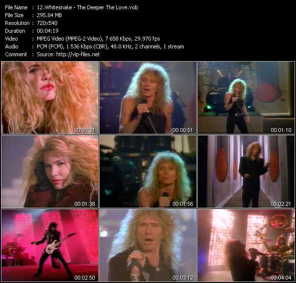 Whitesnake - The Deeper The Love