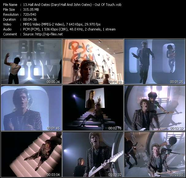 Hall And Oates (Daryl Hall And John Oates) - Out Of Touch