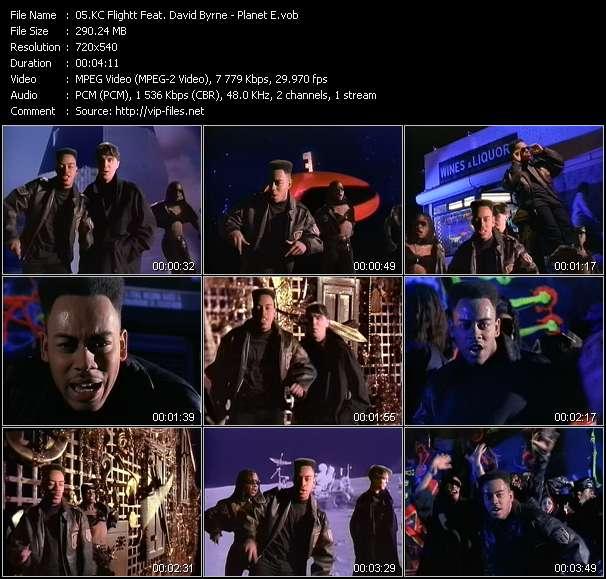 KC Flightt Feat. David Byrne - Planet E