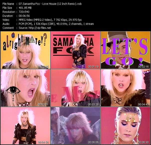 Samantha Fox - Love House (12 Inch Remix)