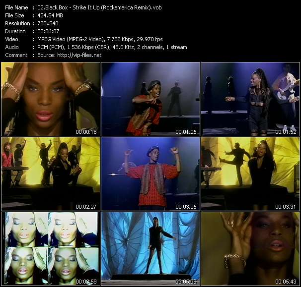 Black Box - Strike It Up (Rockamerica Remix)