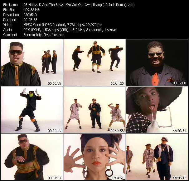Heavy D And The Boyz - We Got Our Own Thang (12 Inch Remix)