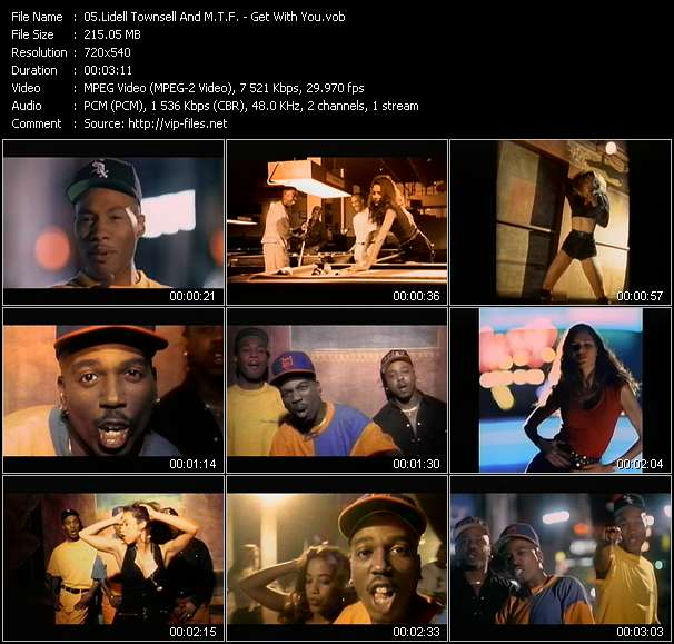 Lidell Townsell And M.T.F. - Get With You