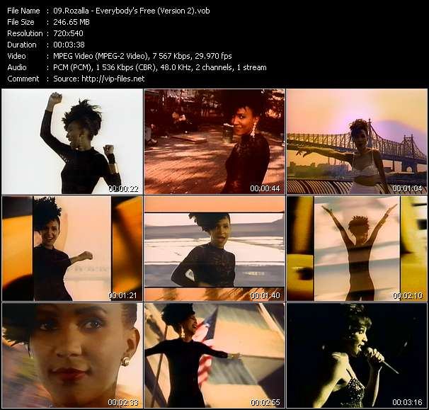 Rozalla - Everybody's Free (Version 2)