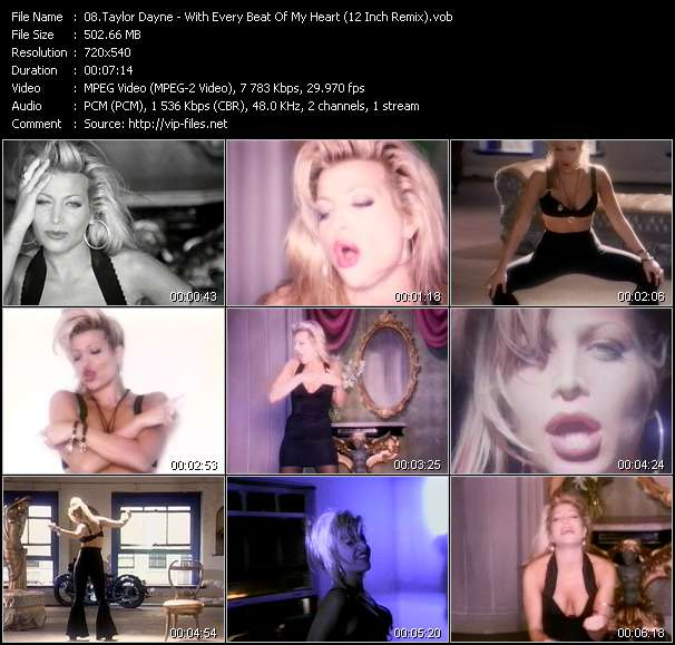 Taylor Dayne - With Every Beat Of My Heart (12 Inch Remix)