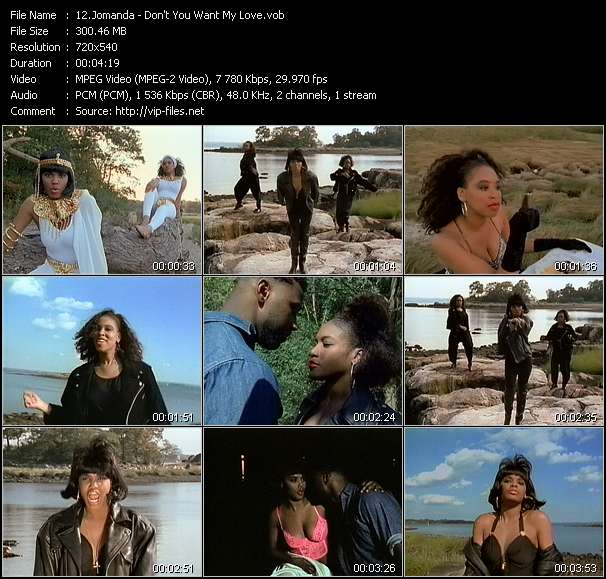 Jomanda - Don't You Want My Love