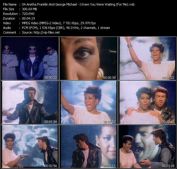 Aretha Franklin And George Michael - I Knew You Were Waiting (For Me)