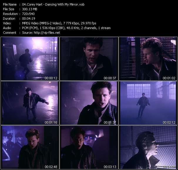 Corey Hart - Dancing With My Mirror