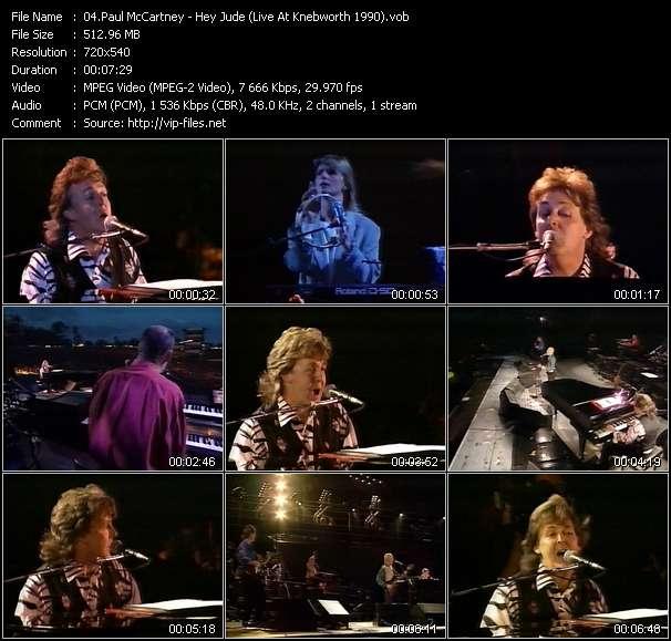 Paul McCartney - Hey Jude (Live At Knebworth 1990)