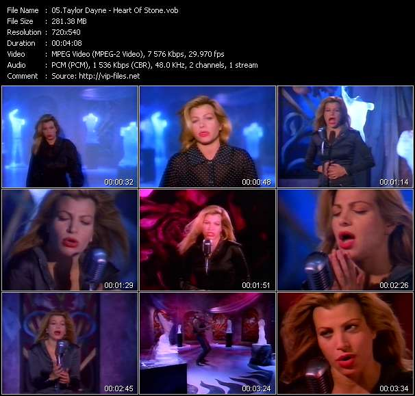 Taylor Dayne - Heart Of Stone