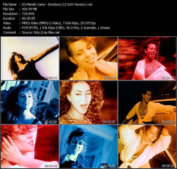 Mariah Carey - Emotions (12 Inch Version)