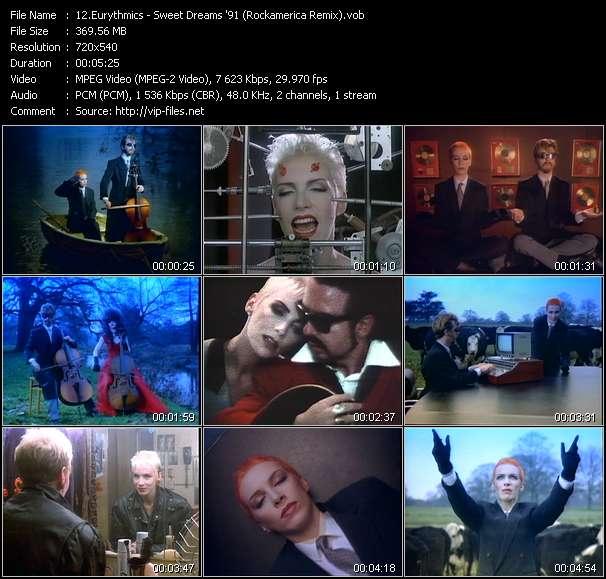 Eurythmics - Sweet Dreams '91 (Rockamerica Remix)