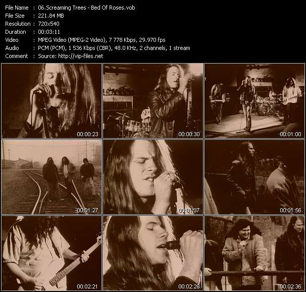 Screaming Trees - Bed Of Roses
