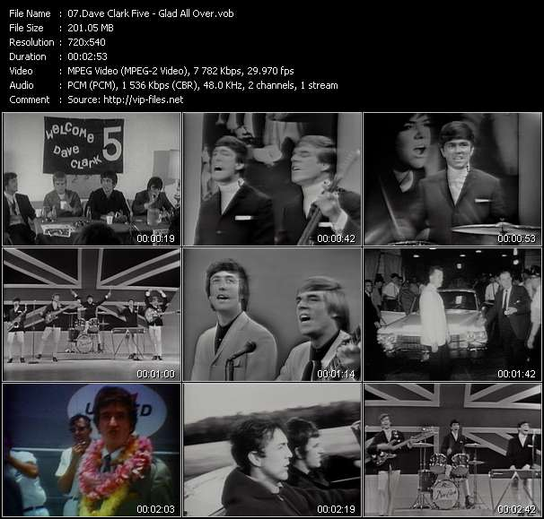 Dave Clark Five - Glad All Over