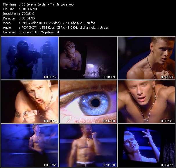 Jeremy Jordan - Try My Love