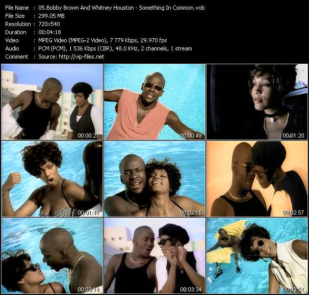 Bobby Brown And Whitney Houston - Something In Common
