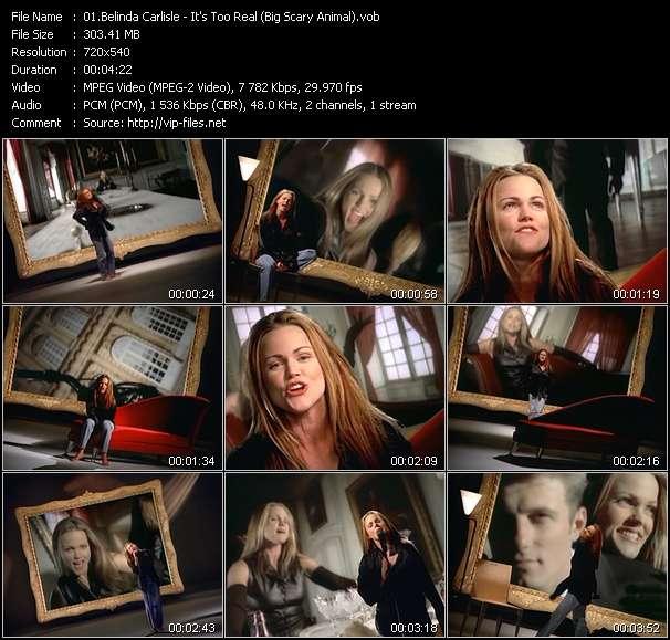 Belinda Carlisle - It's Too Real (Big Scary Animal)