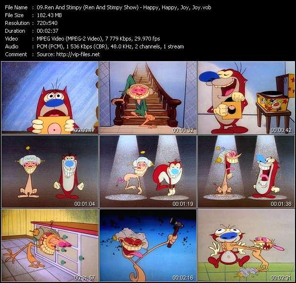 Ren And Stimpy (Ren And Stimpy Show) - Happy, Happy, Joy, Joy