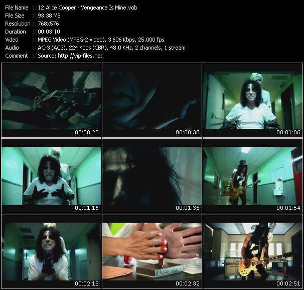 Alice Cooper - Vengeance Is Mine