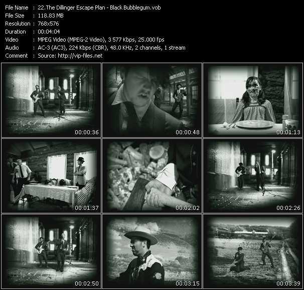 Dillinger Escape Plan - Black Bubblegum