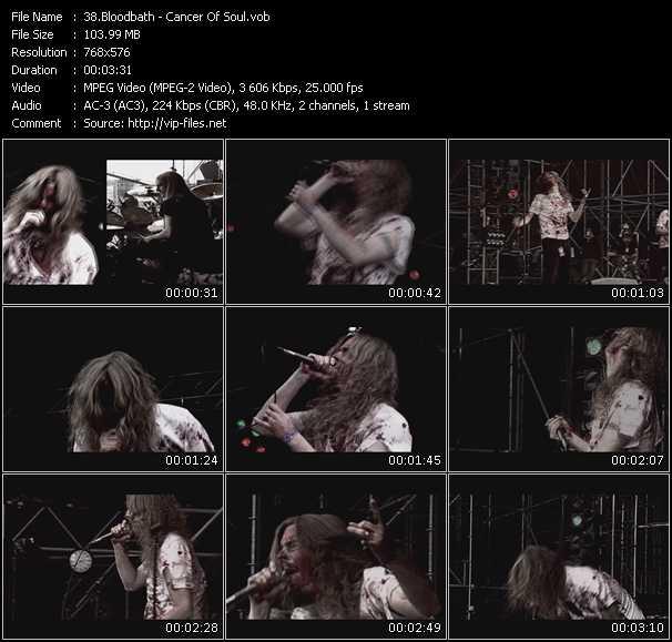 Bloodbath - Cancer Of Soul