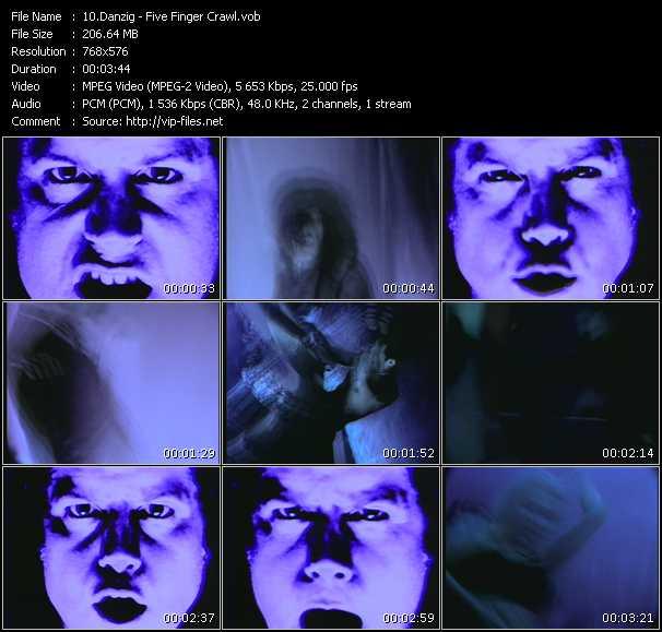 Danzig - Five Finger Crawl