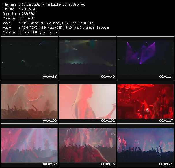 Destruction - The Butcher Strikes Back (Live)