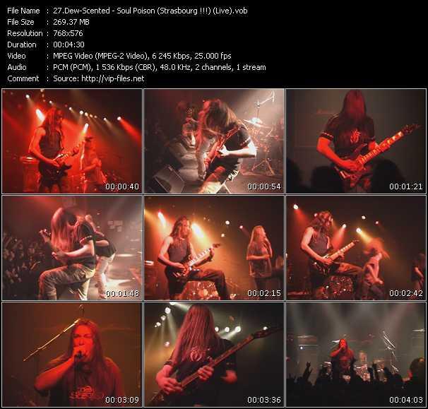 Dew-Scented - Soul Poison (Strasbourg !!!) (Live)