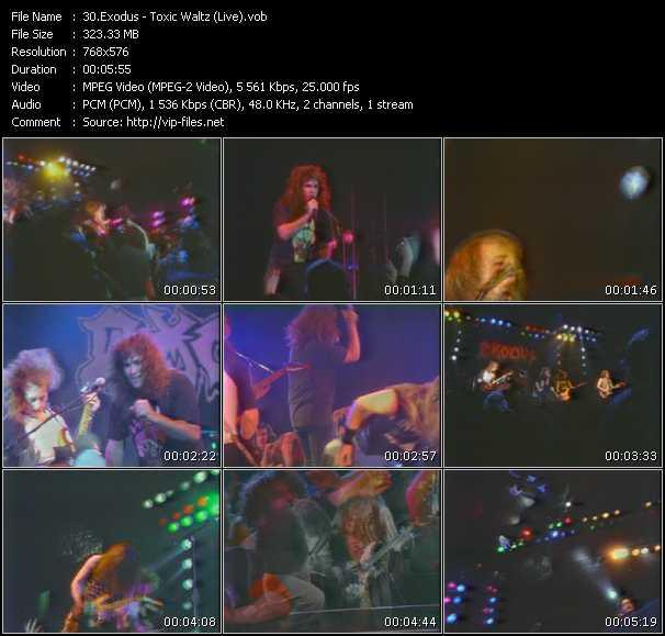 Exodus - Toxic Waltz (Live)