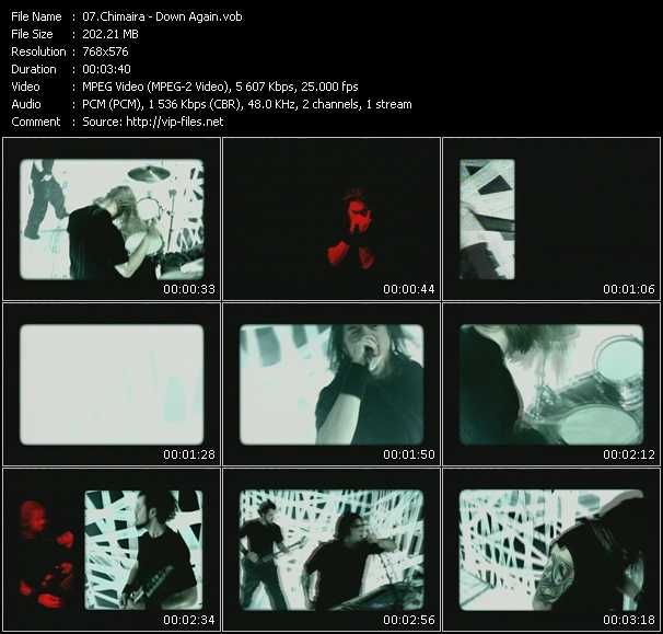 Chimaira - Down Again