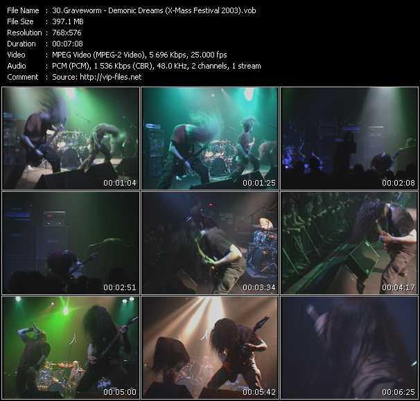 Graveworm - Demonic Dreams (X-Mass Festival 2003)
