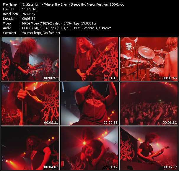 Kataklysm - Where The Enemy Sleeps (No Mercy Festivals 2004)