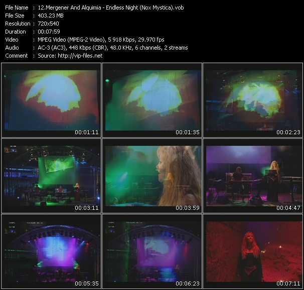 Mergener And Alquimia - Endless Night (Nox Mystica)