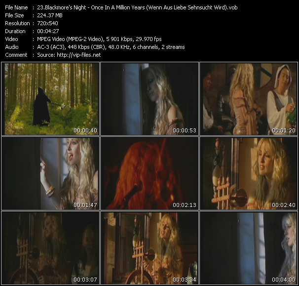Blackmore's Night - Once In A Million Years (Wenn Aus Liebe Sehnsucht Wird)