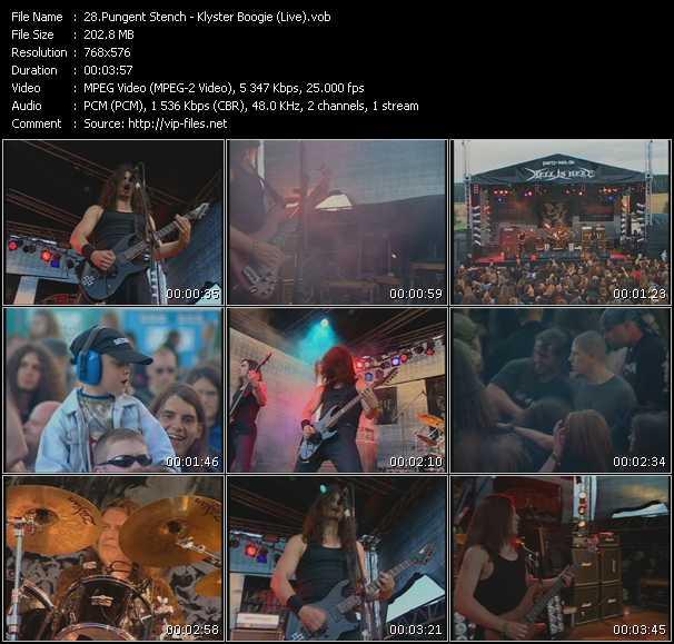 Pungent Stench - Klyster Boogie (Live)