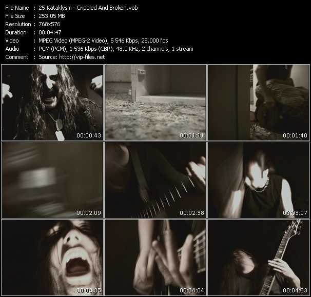 Kataklysm - Crippled And Broken
