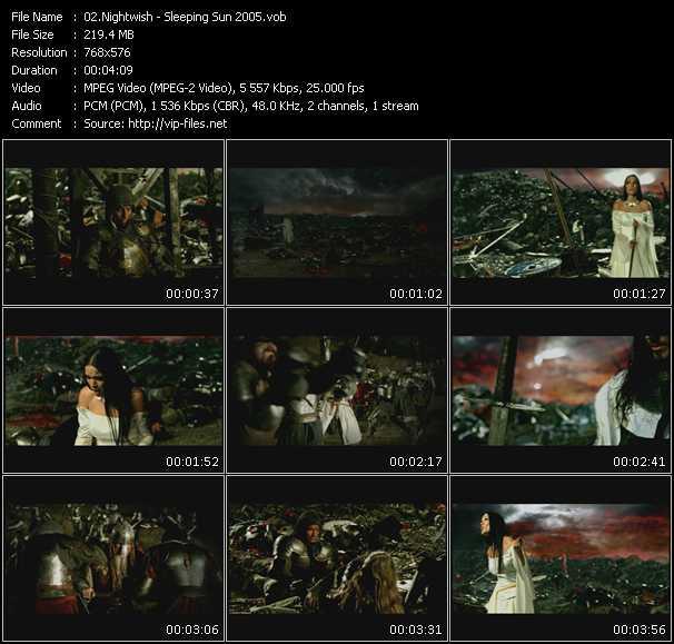Nightwish - Sleeping Sun 2005