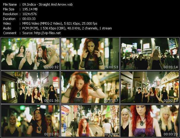 screenschot of Indica video