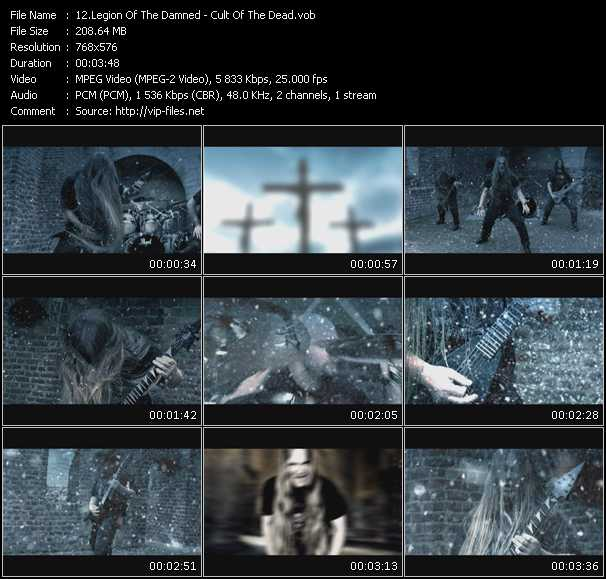 screenschot of Legion Of The Damned video