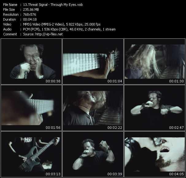 screenschot of Threat Signal video