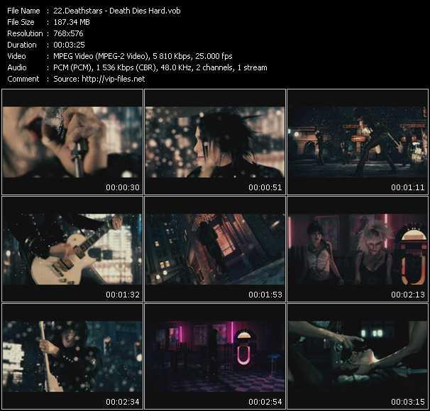 screenschot of Deathstars video