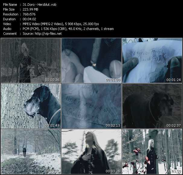 screenschot of Doro video